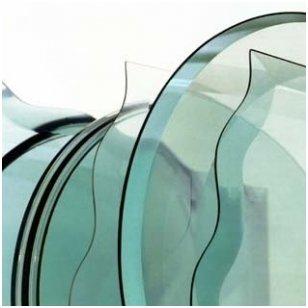 Stiklo briaunų facetavimas